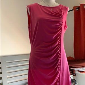 Michael Kors Vintage Style Dress In Pink color